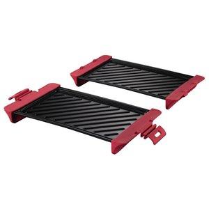 Xavax Grillplaat Voor De Magnetron Tot 900 W 29,5 X 15,1 X 5,8 Cm 2 Stuks