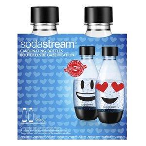 Sodastream Herbruikbare Flessen Emoji 0.5L 2 Stuks