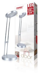 Ranex Febe LED Bureaulamp 2.5W Zilver