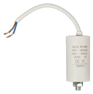Fixapart W9-11208N Condensator 8.0 uf / 450 V + Kabel