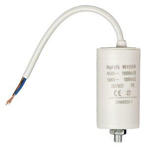 Fixapart W9-11216N Condensator 16.0 uf / 450 V + Kabel