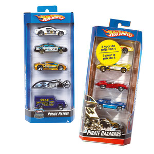 Hot Wheels Car 5-Pack