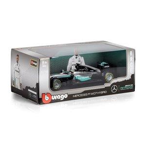 Burago Petronas Mercedes Formule 1 WO7 Hybrid Auto 1:18