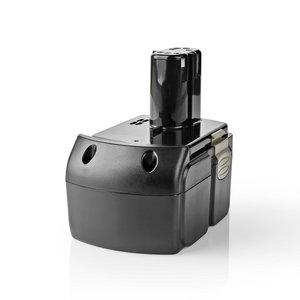 Nedis P4AHHI18V01 Powertool-accu Li-ion 18 V 4 Ah 72 Wh Vervanging Voor Hitachi