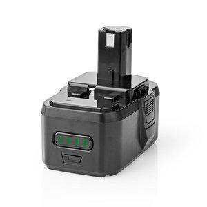 Nedis P4AHRY18V01 Powertool-accu Li-ion 18 V 4 Ah 72 Wh Vervanging Voor Ryobi 18 V One +