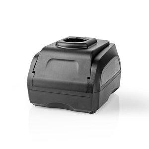 Nedis PTCM002FBK Powertool-lader Batterij-uitgang 7,2 - 18 V Dc Zwart & Decker, Firestorm, Dewalt, Würth