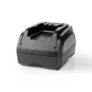 Nedis PTCM003FBK Powertool-lader Batterij-uitgang 7,2 - 18 V Dc Zwart & Decker, Firestorm, Dewalt
