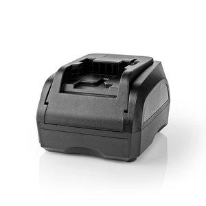Nedis PTCM006FBK Powertool-lader Batterij-uitgang 18 V Zwart & Decker, Firestorm, Dewalt