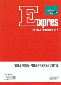 Sigel Expres Telefoongespreksnotitieblok A5 Doos 5 Stuks